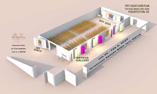 floorplan for IPFF 2020